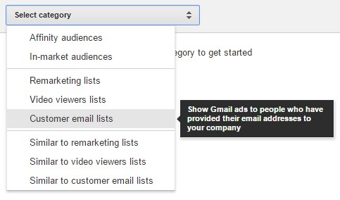 customer email lists