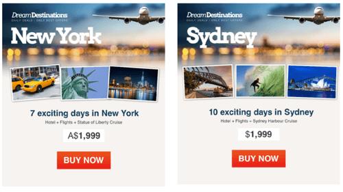 Personalización geográfica