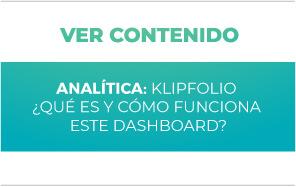 Analítica: Klipfolio ¿Qué es y cómo funciona este dashboard?
