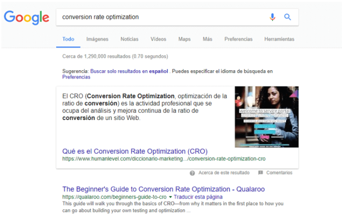 Google CRO