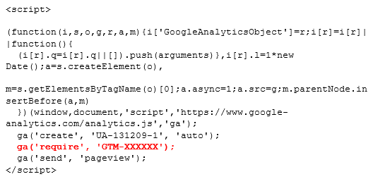 Instalación de Google Optimize paso 5.3