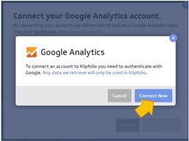 Klipfolio dashboard conexión a Google Analytics 2
