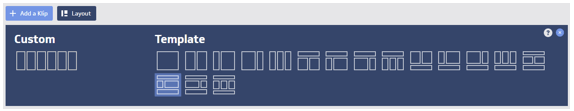 Klipfolio dashboard template
