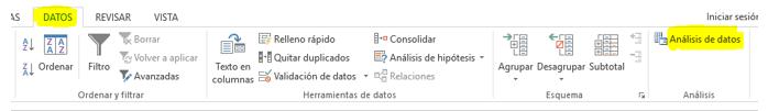 Análisis de datos - 1