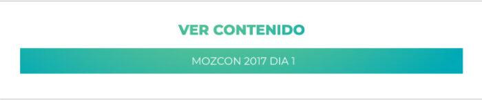 General: MozCon 2017 - Día 1