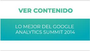 General: Lo mejor del Google Analytics Summit 2014