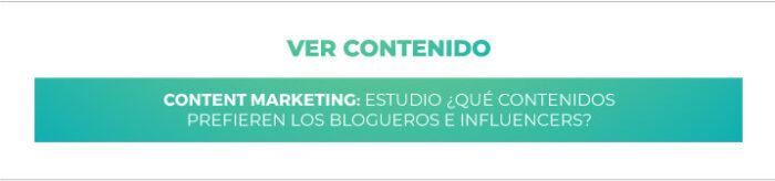Marketing de Contenidos: ¿Qué prefieren los blogueros e influencers?