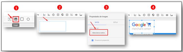 Google Data Studio: Insertar Imagen
