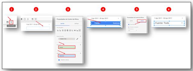 Google Data Studio: Resultado Filtro