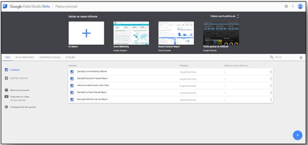 Google Data Studio Beta
