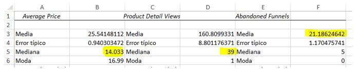 Observación Estadísticas