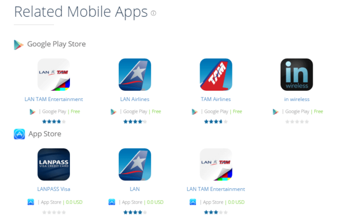 Related Mobile Apps